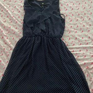 Medium navy blue dress